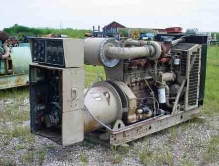 CUMMINS 190KW GENERATOR-0