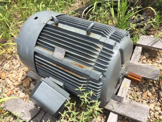 WESTINGHOUSE 100HP ELECTRIC MOTOR-0