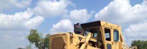 Bulldozer rental for construction companies